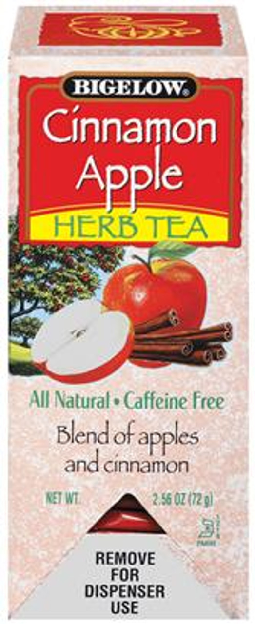 Cinnamon Apple Herb Tea is a natural beverage. It contains no artificial coloring or preservatives and it has no caffeine.