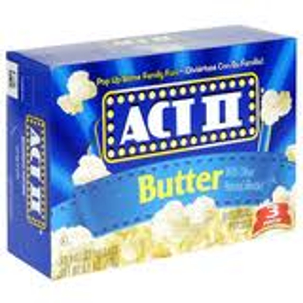 When looking for a warm, wholesome snack that's fun to share with your family and friends, pop up some fun with ACT II microwave popcorn.