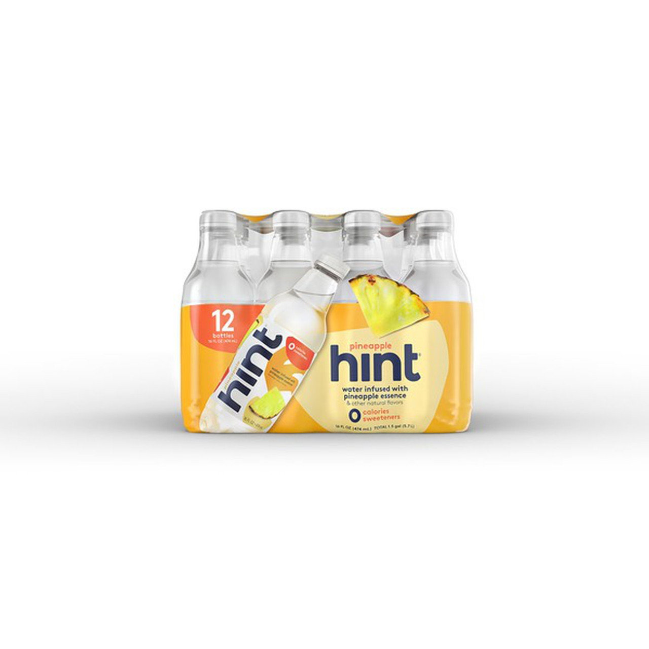 Hint - Fruit Infused Water, Pineapple 16 oz. - 12 ea.