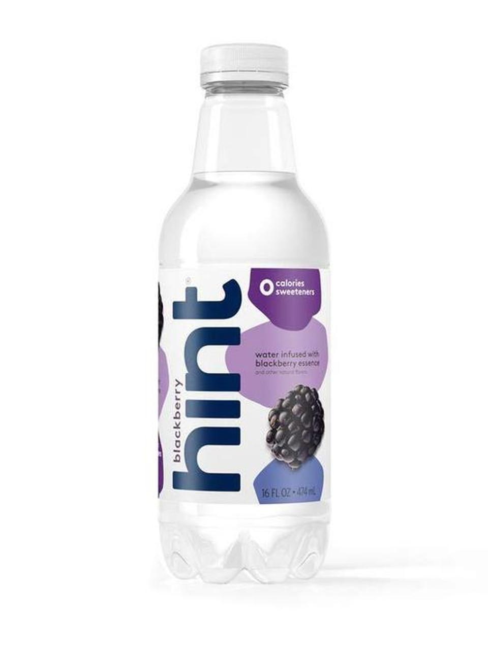 Hint - Fruit Infused Water, Blackberry 16 oz. - 12 ea.