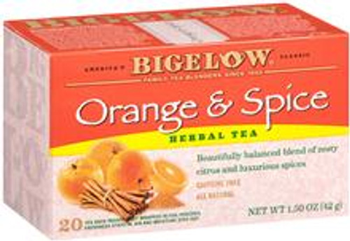 Orange & Spice®, that's what our delightful tea is made of. The old-fashioned goodness of the delicious herbal tea will add something special to your day.
