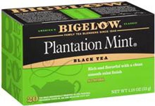You will find Plantation Mint® a delightful flavor surprise. We use only the finest mountain-grown tea blended with natural spearmint.