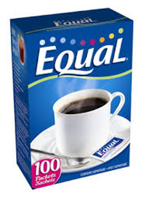 Equal Original Packets are perfect for coffee, iced tea, and other drinks. Each zero-calorie packet quickly dissolves in hot or cold drinks, and sweetens like two teaspoons of sugar.
