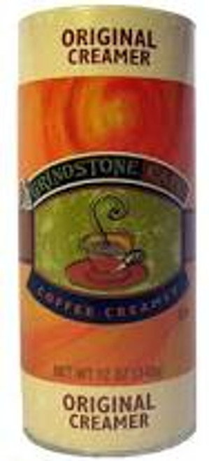 Grindstone 12 Ounce Creamer Canister. Perfect for your restaurant, convenience store, or cafe. Sturdy canister construction ensures durability and easy use. Purchase by the case for additional savings.