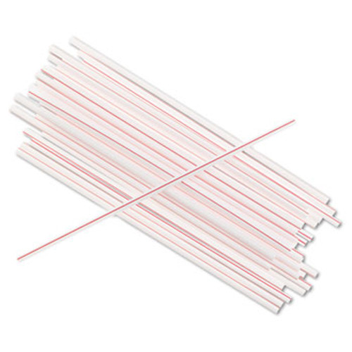 "5"" premium quality plastic coffee stirrers from Brew Rite. Box of 1000 stir sticks."