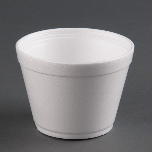These Dart white foam bowls are perfect for any setting. They're lighter than conventional china, yet strong enough to hold a full portion of food without bending. These bowls are ideal for both hot and cold entrees, and they make clean up a breeze.