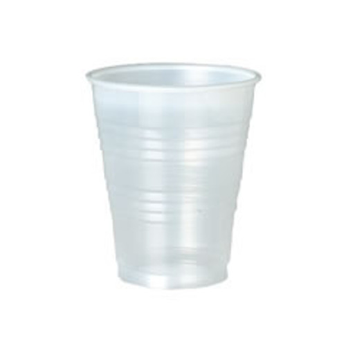 Size: 7oz     Translucent     For cold beverage use     Economical alternative to PET   Extraordinary value, cup has the strength and durability you demand at a price you desire. Efficient designed precision rolled rim offers smooth drinking and a leak resistant seal for the lid. Easy to hold raised sidewalls offer a ''no-slip'' grip.
