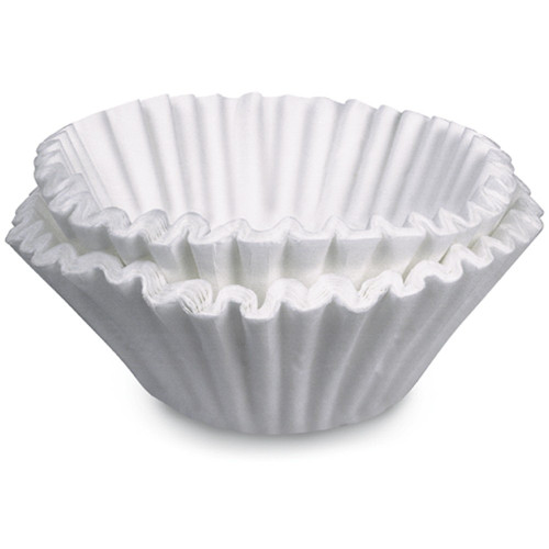 Selection of coffee filters is a vital step in brewing perfect coffee - don't settle for anything less than BUNN quality coffee filters. Using the results of years of research, BUNN manufactures the best filters from high quality, heavy weight paper, so the water flows properly through the coffee. BUNN filters are uniquely designed for strength so the sides are taller, and you don't end up with overflow and grounds in your coffee.  BUNN's paper stock used in the manufacturing of our coffee filters is produced using an elemental chlorine-free (ECF) bleaching method. This process insures that there will be no detectable level of dioxin in BUNN's paper coffee filters. Our paper stock supplier conducts regular testing, as required by the Environmental Protection Agency (EPA), to confirm that no detectable dioxin is present.