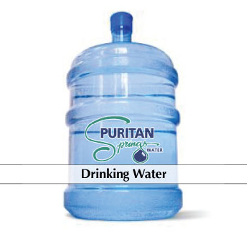Puritan Springs - Drinking Water - 5 gallon bottle  Drinking - clear cap