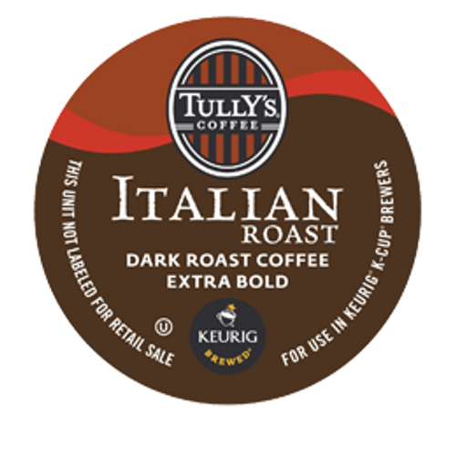 This coffee is a perfect representation of Tully's roasting philosophy. Slow roasting at a low temperature allows this coffee's complexity to be unwrapped with each sip. A malty sweetness plays with smoky elements that help develop the full bodied cup. Creamy and rich in the mouthful, the finish offers burnt cedar yet is pleasantly dry.