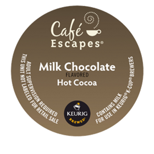 One sip of our velvety rich milk chocolate cocoa and you'll know you're enjoying a higher order of hot cocoa. Unbelievably creamy, unquestionably satisfying—it's an ideal treat for moments of indulgent relaxation.