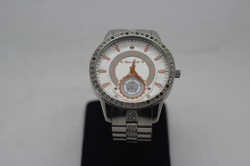 Marc Echo watch with decorative stones