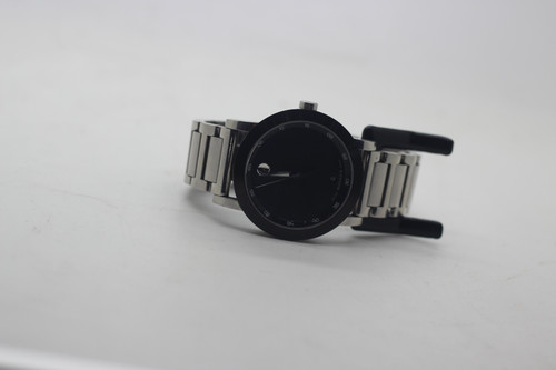 Black sport Movado museum watch.