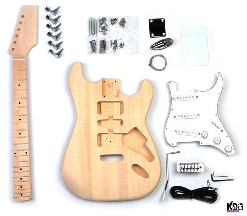 DIY Guitar Kit Strat ST Style Build Your Own Guitar Kit KBG-ST-B