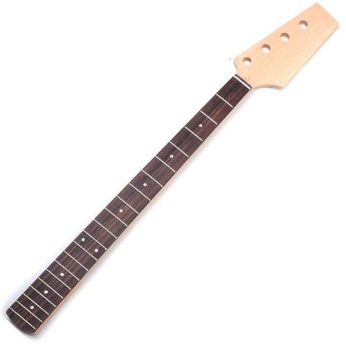 20 fret bass neck - maple with rosewood fingerboard to fit jazz style bass
