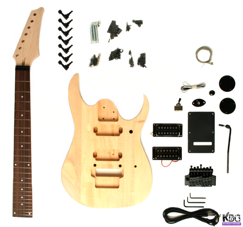 7 String DIY Build Your Own Guitar Kit