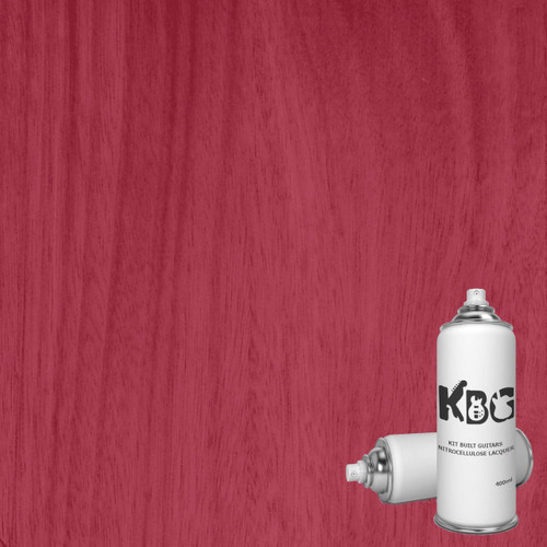 Raspberry Red Translucent Nitrocellulose Lacquer 400ml Aerosol
