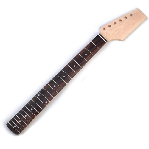 21 Fret Maple Neck, Roswood Fingerboard To Fit Strat