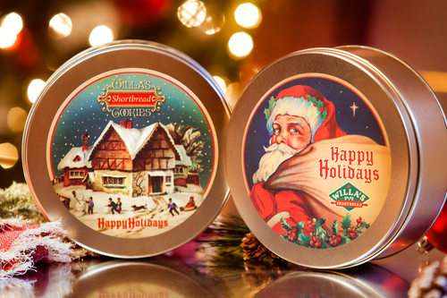 Happy Holidays Tin