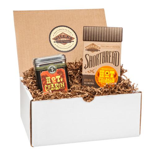 Nashville Hot Cheddar and Hot Chicken Spice Gift Set