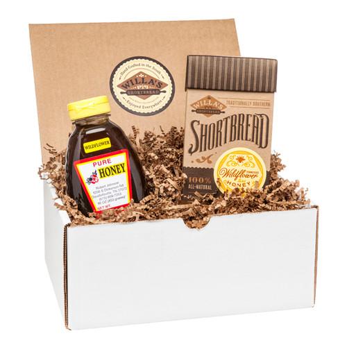 Wildflower Honey Shortbread and Wildflower Honey