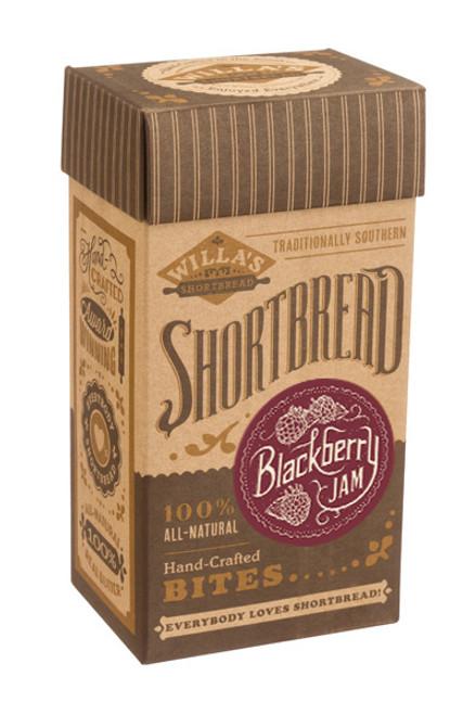 Blackberry Jam Shortbread