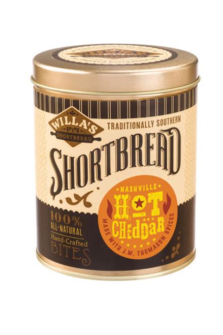 Nashville Hot Cheddar 8 oz Cylinder Tin