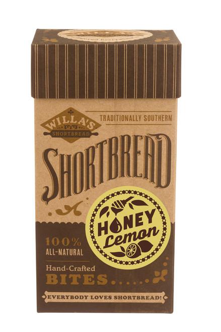 Honey Lemon Shortbread