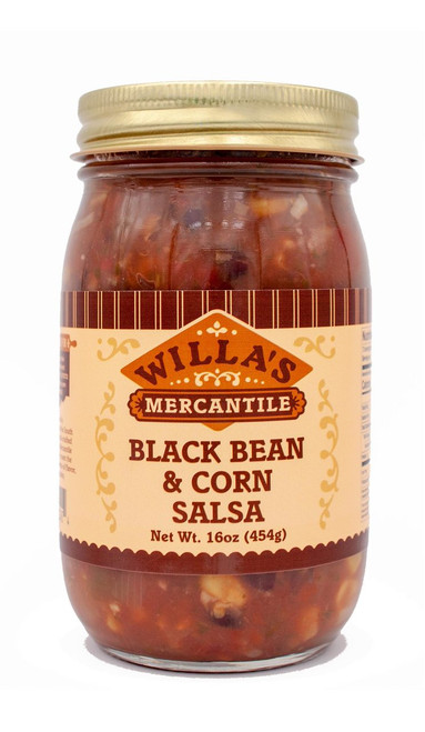 Black Bean and Corn Salsa - 16 oz
