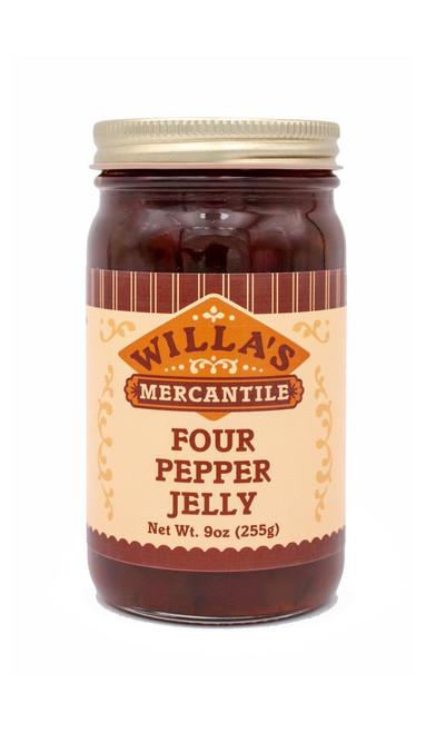 Four Pepper Jelly - 9 oz