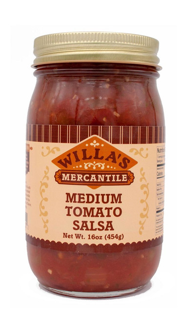 Medium Tomato Salsa - 16 oz