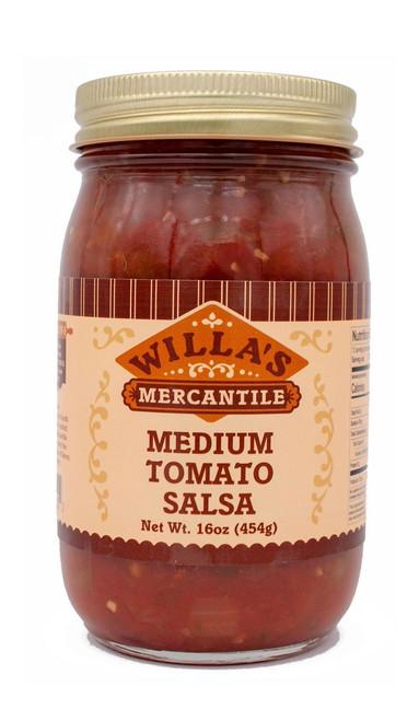 Medium Tomato Salsa - 16 oz