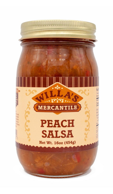 Peach Salsa - 16 oz