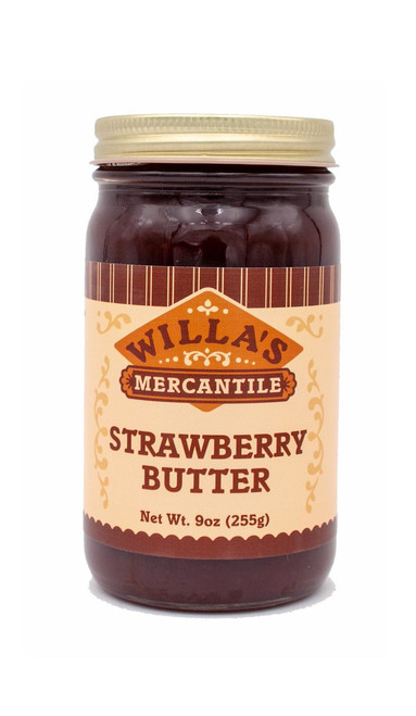 Strawberry Butter - 9 oz