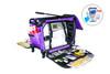 Purple Medium Machine On Wheels