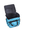Strong nylon, heavy duty handles, straps and zippers