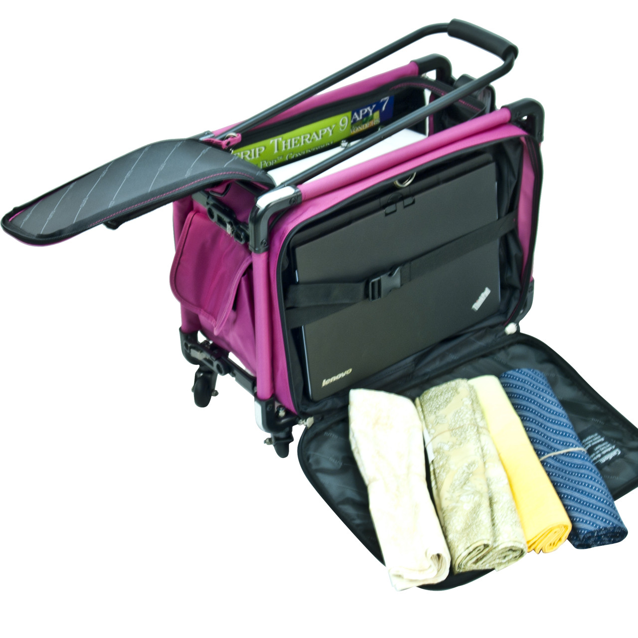 Use as sewing machine bag(back view).