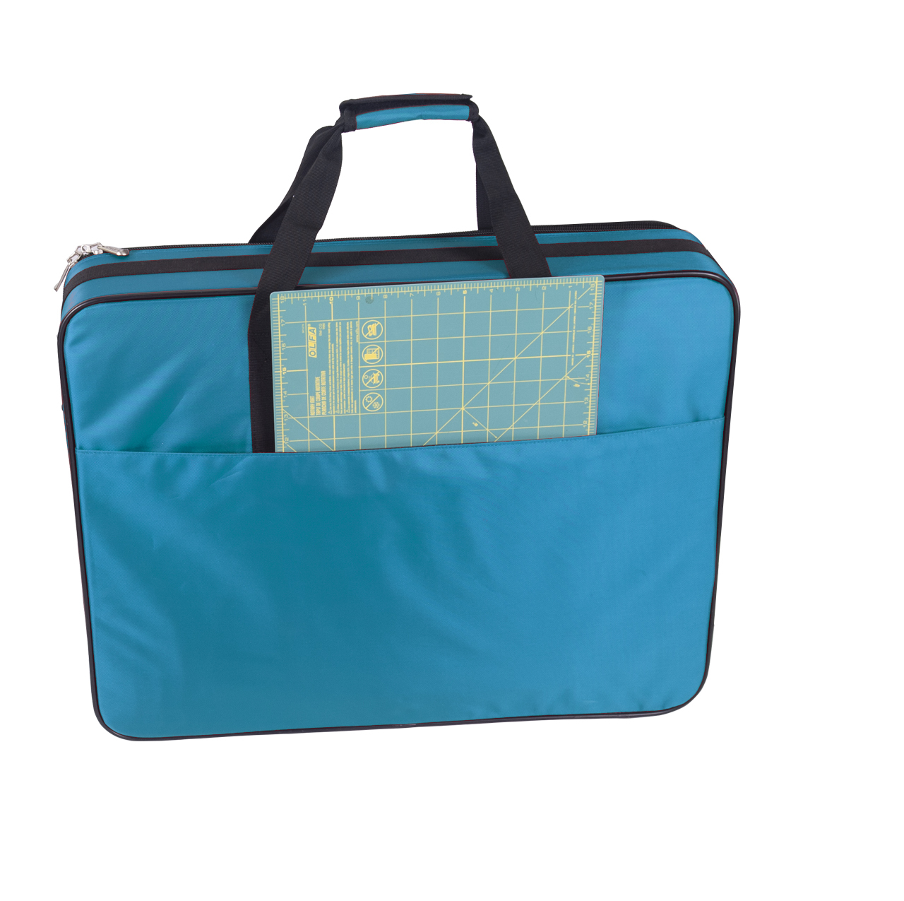 Great companion bag: carry individually with handle or shoulder strap. Also can stack on top of Tutto Machine On Wheels or Tutto Serger On Wheels.