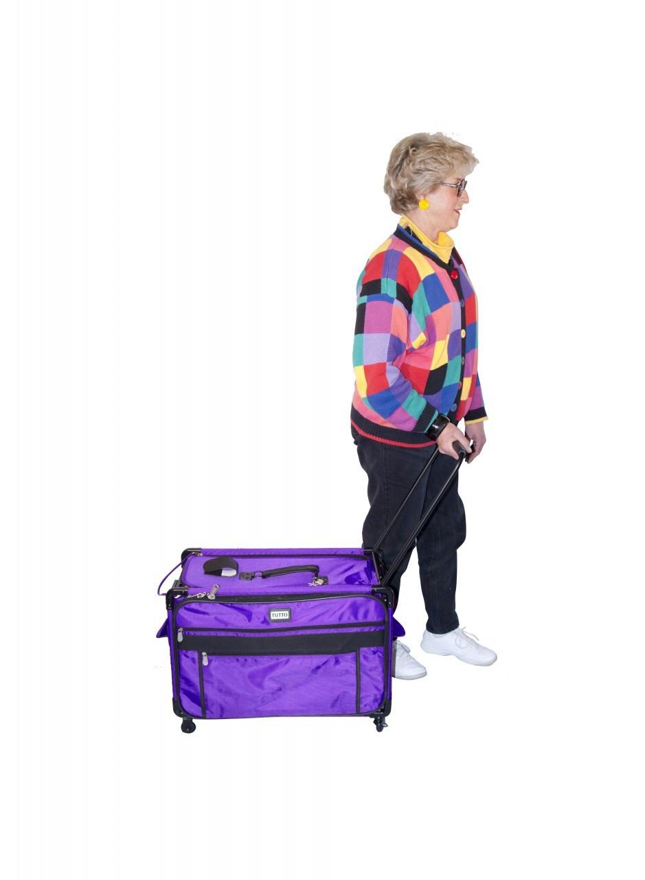 1X -Purple  Monster Machine On Wheels