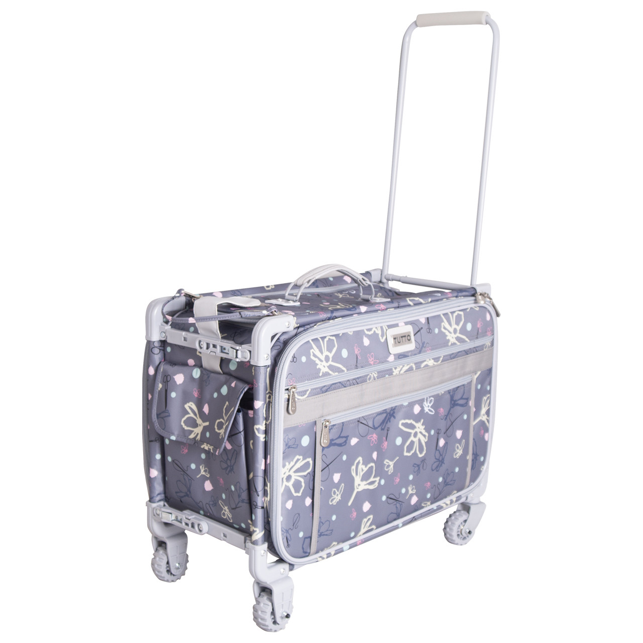 Large Silver Daisies Machine On Wheels (Pre-order Sale + free shipping)