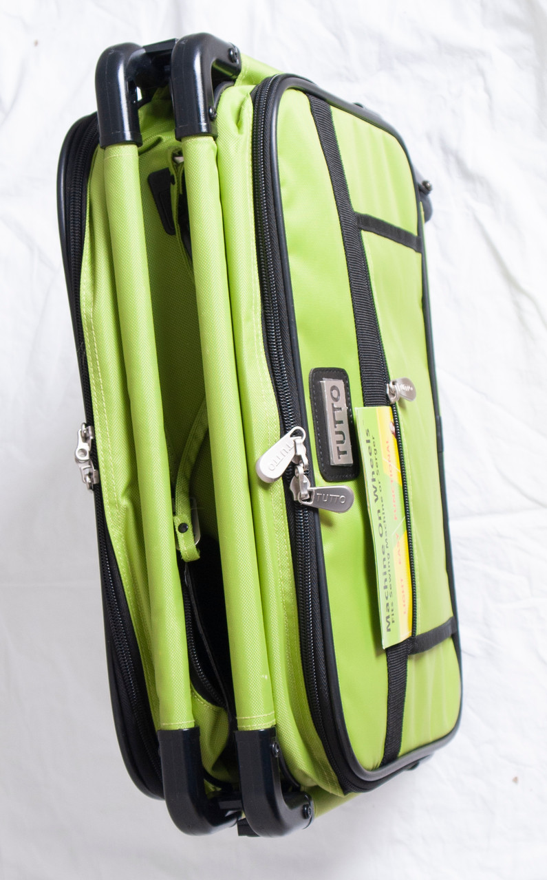 "Refurbished 17"" Lime Small Carry-On Size"