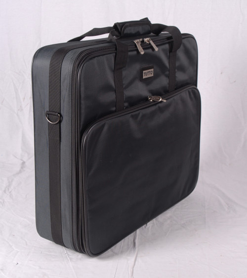 """Refurbished 23"""" Black Embroidery Project Bag(R)"""