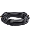 Bolton 400 Low Loss Cable - N-Male to N-Male PE Black Jacket 60 ft