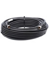 Bolton 400 Low Loss Cable - N-Male to N-Male PE Black Jacket 100 ft