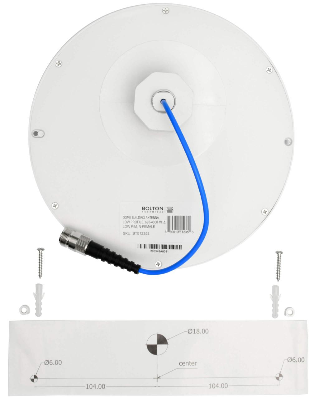 The Cowboy 75 - Inside Dome Antenna