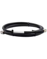 Bolton 400 Low Loss Cable - N-Male to N-Male PE Black Jacket 10 ft