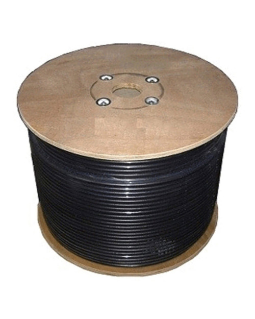 Bolton 600 Low Loss Cable - PE Black Jacket Priced Per Foot