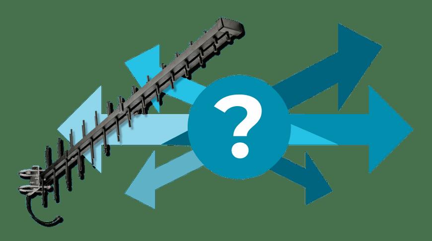 The Arrow - Log Periodic Antennas, or Where to Put Your Arrow