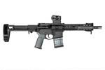 SB Tactical Adjustable PDW Pistol Stabilizing Brace - Black