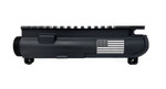 Engraved M4 Stripped Upper Receiver - American Flag ^